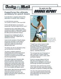 Puppy Purse - DRUDGE REPORT