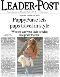 Puppy Purse - Leader Post